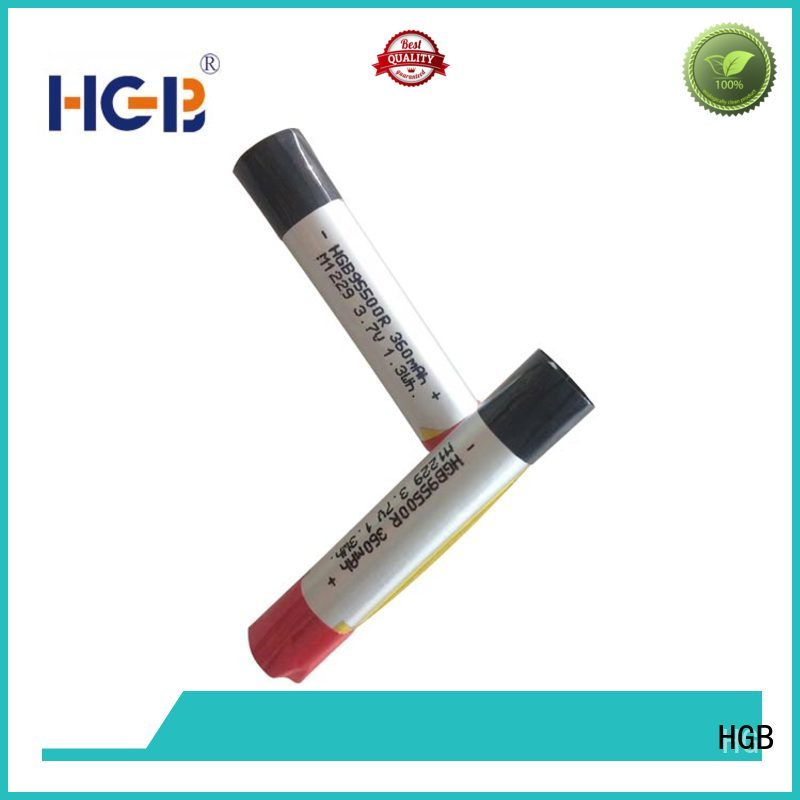 HGB electronic cigarette battery directly sale for electronic cigarette