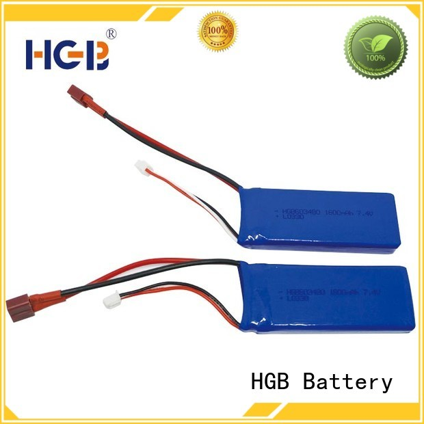 HGB advanced rc helicopter battery factory price for RC quadcopters