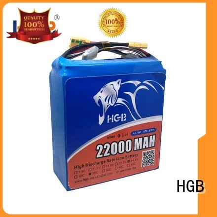 HGB professional racing drone battery with good price for UAV