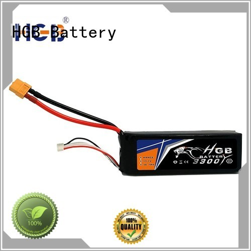 HGB reliable rc battery wholesale for RC helicopter