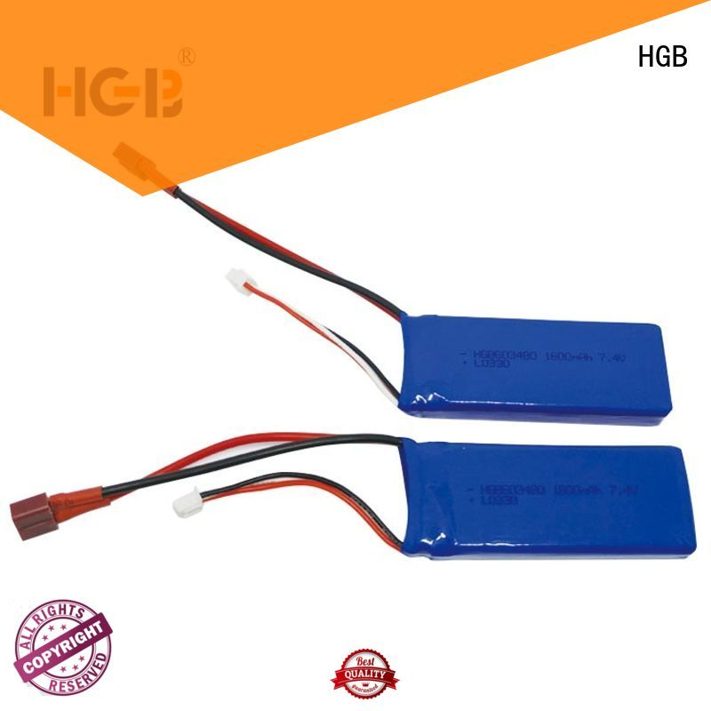 reliable lithium polymer battery rc factory price for RC car