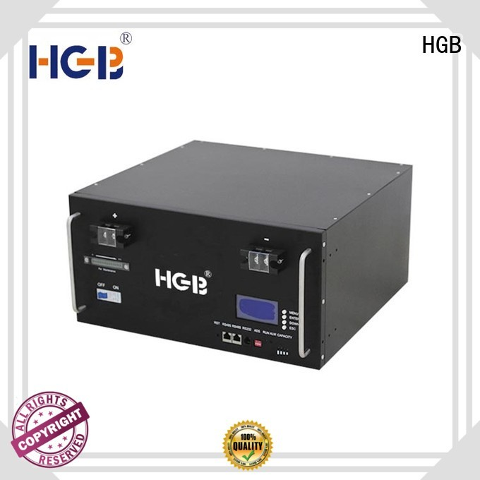 HGB long cycle life station battery series for electric vehicles