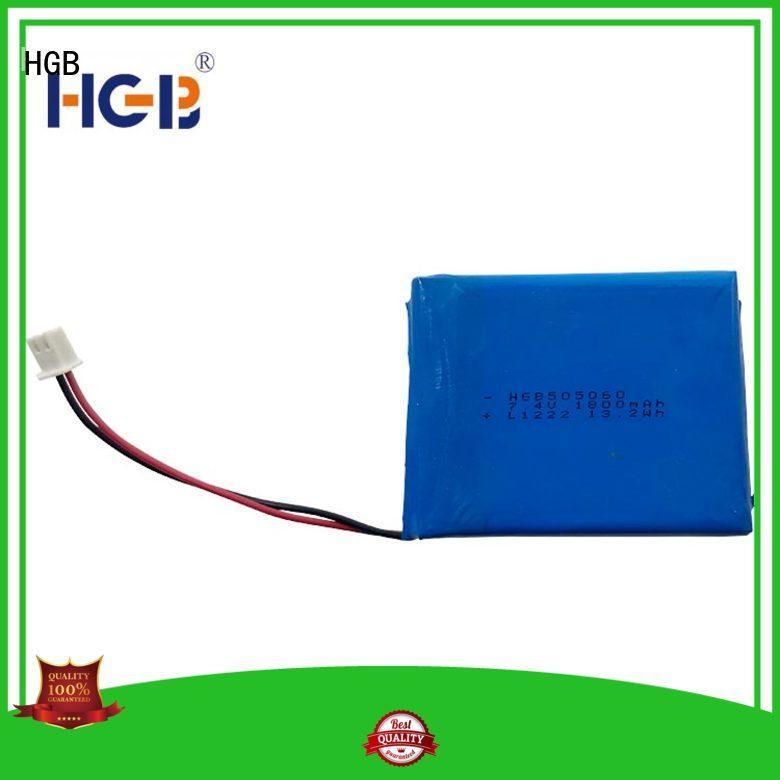Flat lithium polymer battery 3.7V 3C 1800mAh HGB505060