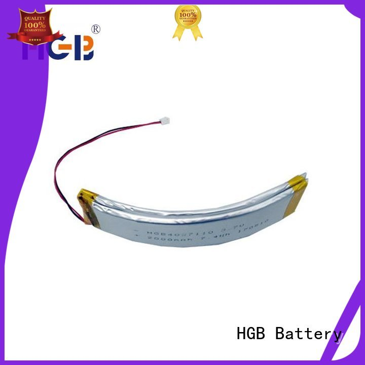 HGB button shape flexible battery supplier for wearable battery