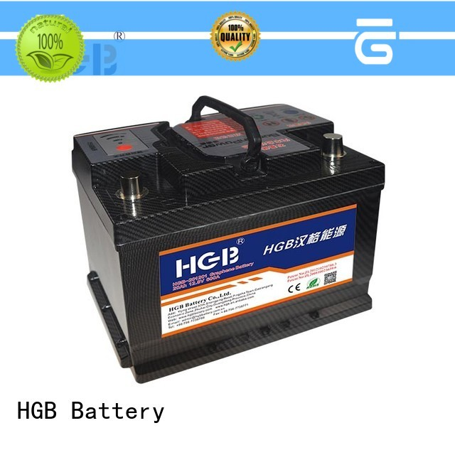 HGB charge quickly graphene car batteries manufacturer for cars