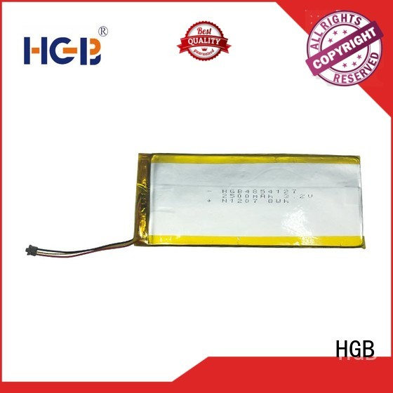 HGB thinnest lithium ion battery directly sale for digital products
