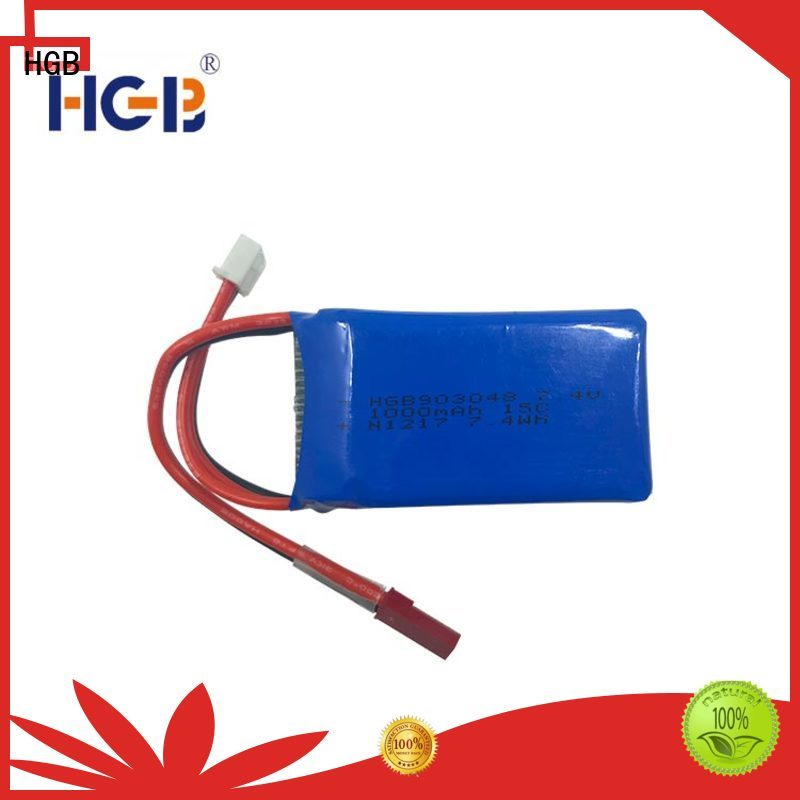 HGB helicopter rc battery factory for RC planes