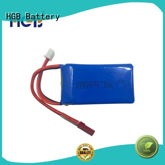 high quality lithium polymer battery rc manufacturer for RC quadcopters HGB