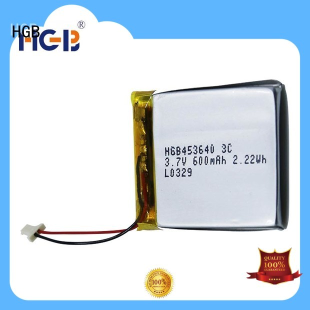 rechargeable lithium polymer battery for mobile devices HGB