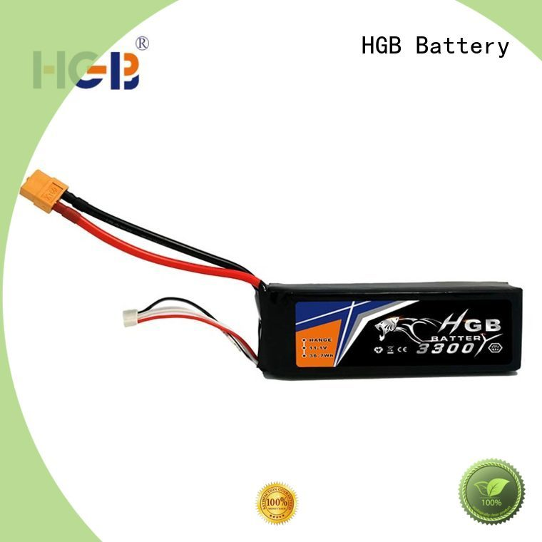 HGB rechargeable rc batterier factory price for RC car