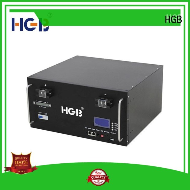 HGB lithium iron phosphate battery supplier for Cloud/Solar Power Storage System