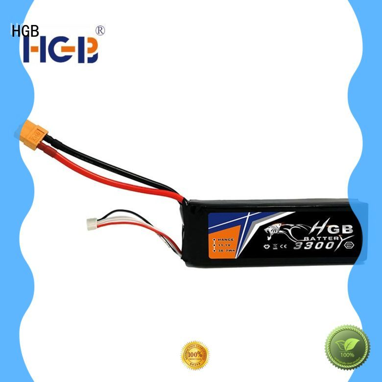 HGB high quality rc plane battery factory price for RC helicopter