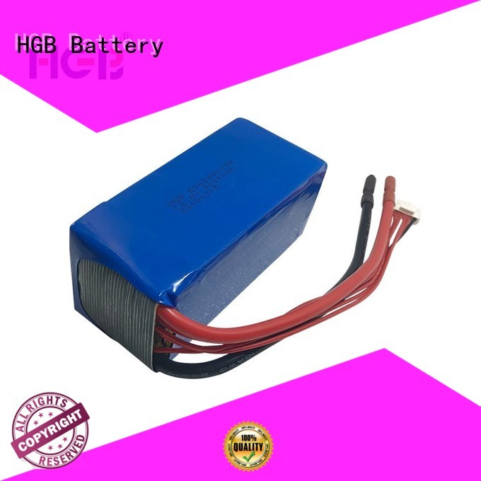 HGB lithium polymer car battery customized for digital products