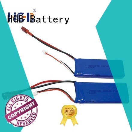 HGB advanced car battery rc for RC helicopter
