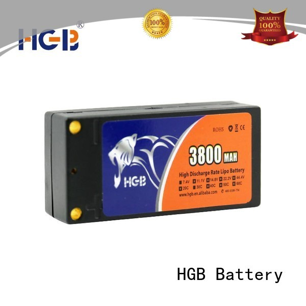 HGB reliable lithium polymer battery rc factory for RC helicopter