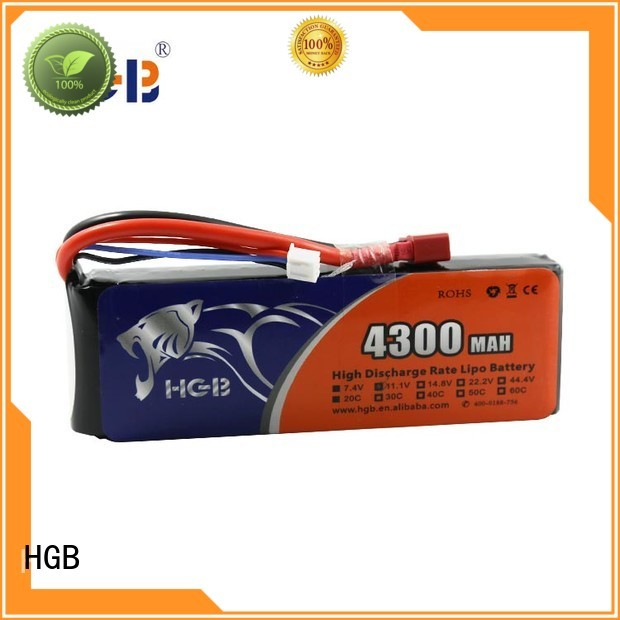 HGB popular rc batterier factory for RC planes