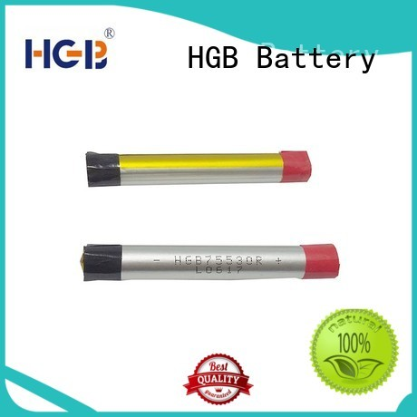 HGB cost-effective ion polymer battery directly sale for rechargeable devices