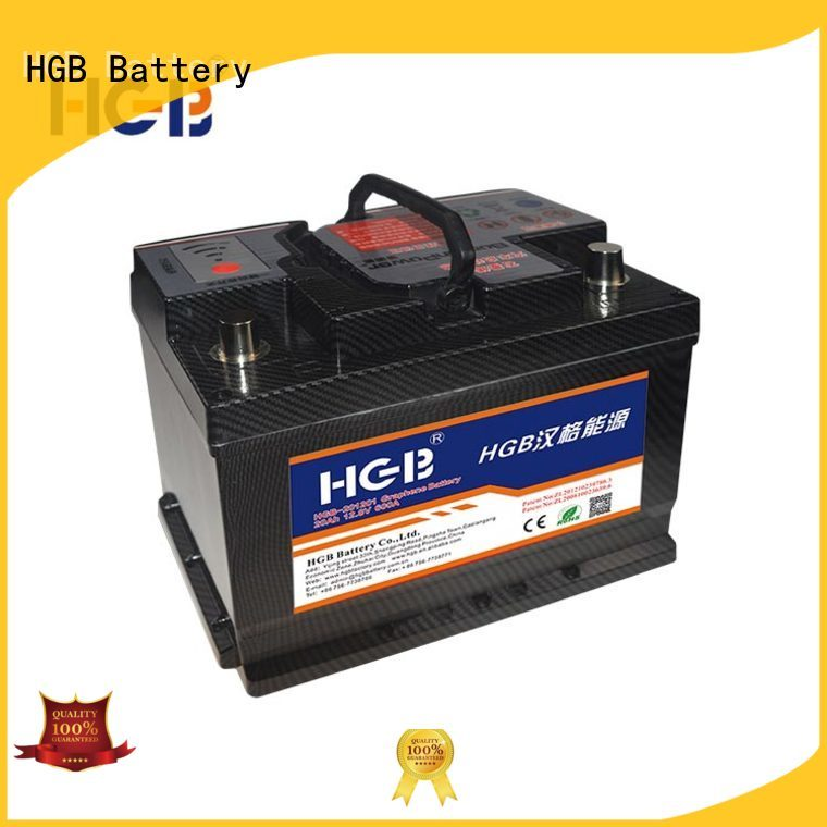 HGB lithium car battery customized for tractors