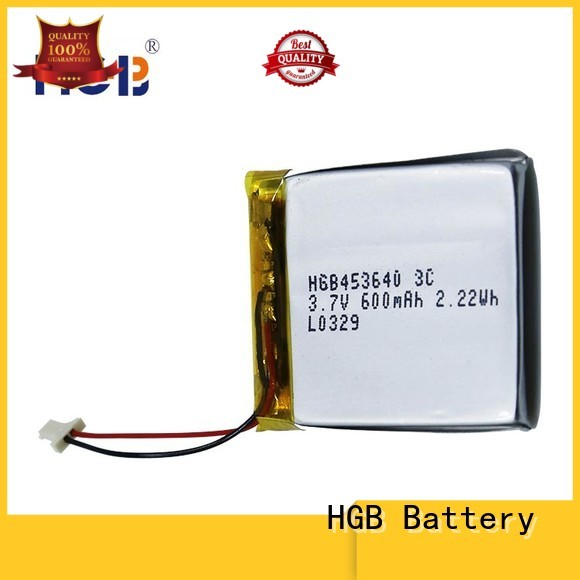 HGB light weight flat lithium ion battery pack supplier for digital products
