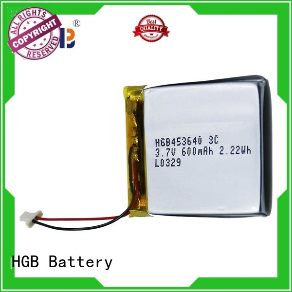 HGB flat li ion battery directly sale for mobile devices