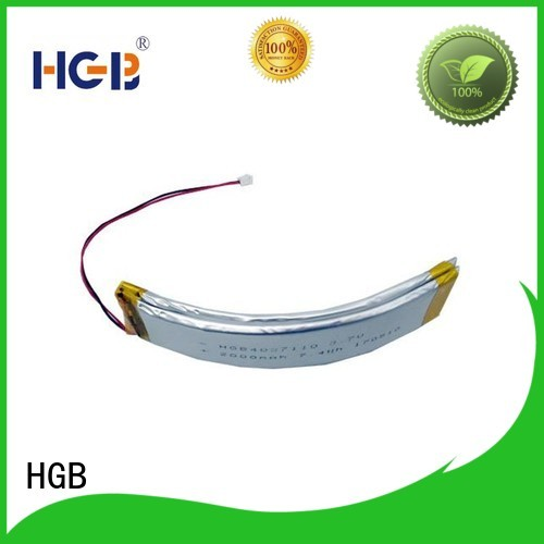 HGB fast charging flexible lithium ion battery manufacturer for multi-function integrated watch