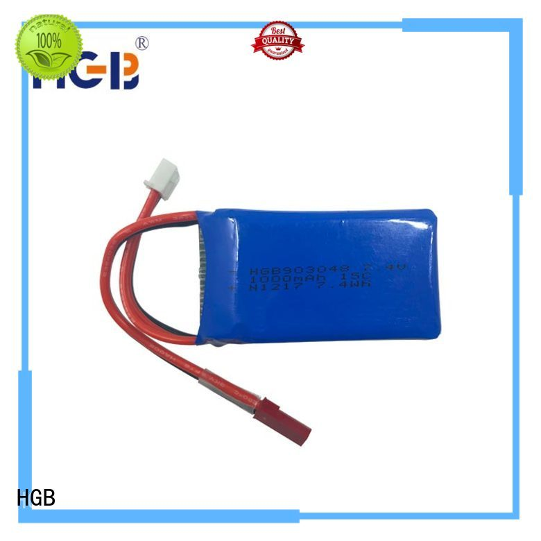 rechargeable li poly rc battery factory price for RC quadcopters