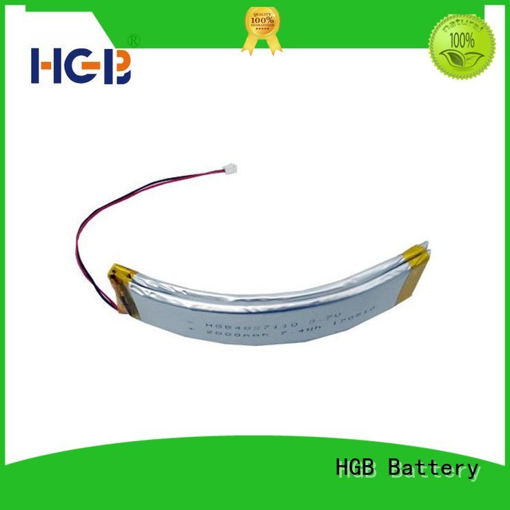 HGB flexible battery manufacturer for wearable battery