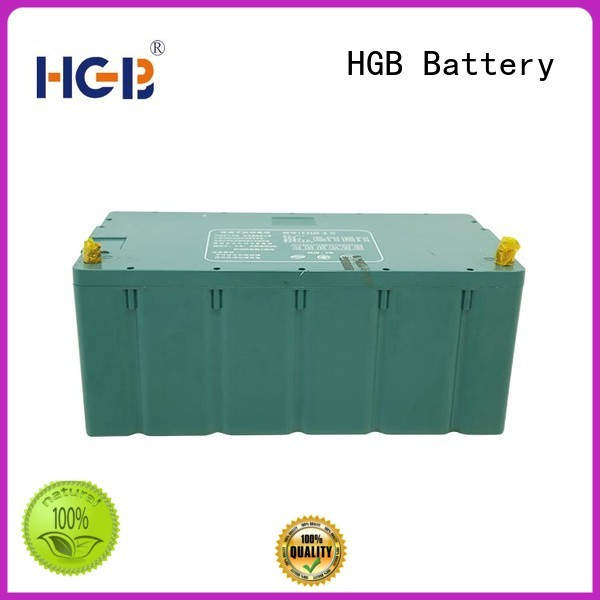 HGB rechargeable electric car battery factory price for truck