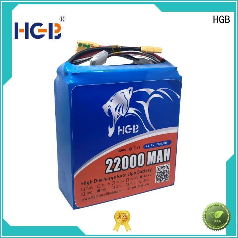 HGB best fpv battery manufacturer for UAV