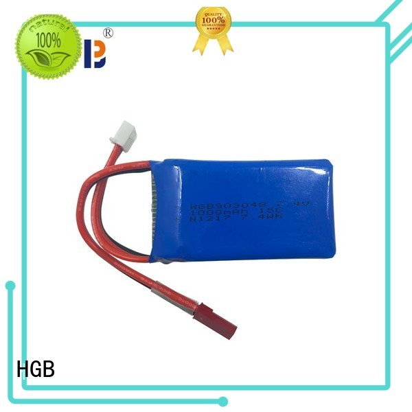 HGB popular lithium rc battery factory for RC planes