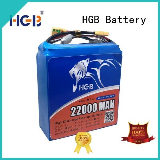 HGB professional lithium ion battery for drone with good price for UAV