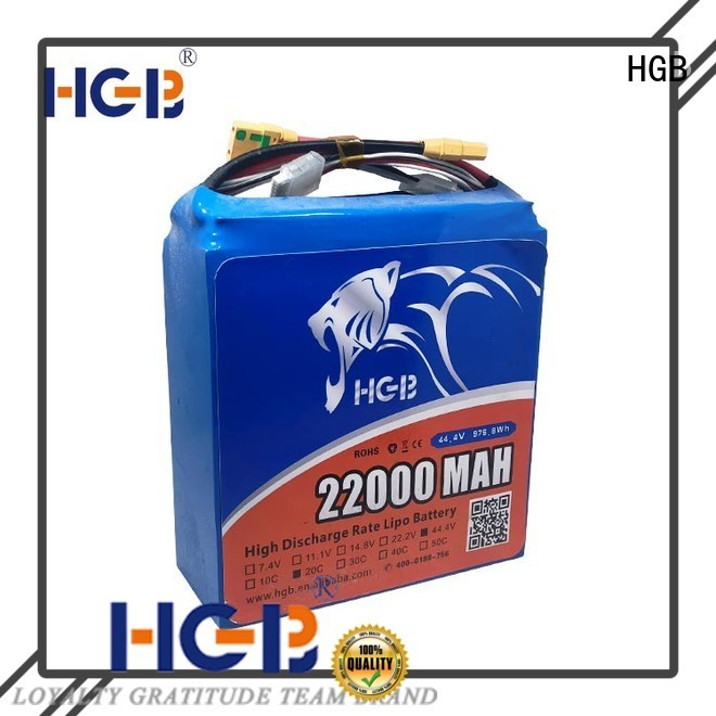 HGB racing drone battery with good price for UAV
