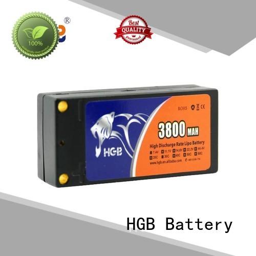 HGB rc car battery 7200mah for RC planes