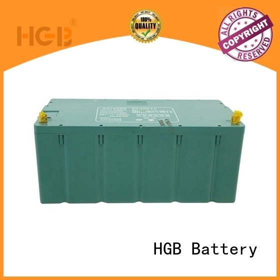 HGB rechargeable best battery for electric car factory price for heavy duty transportation