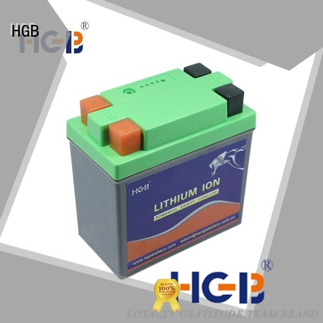 HGB lifepo4 discharge curve factory price for EV car
