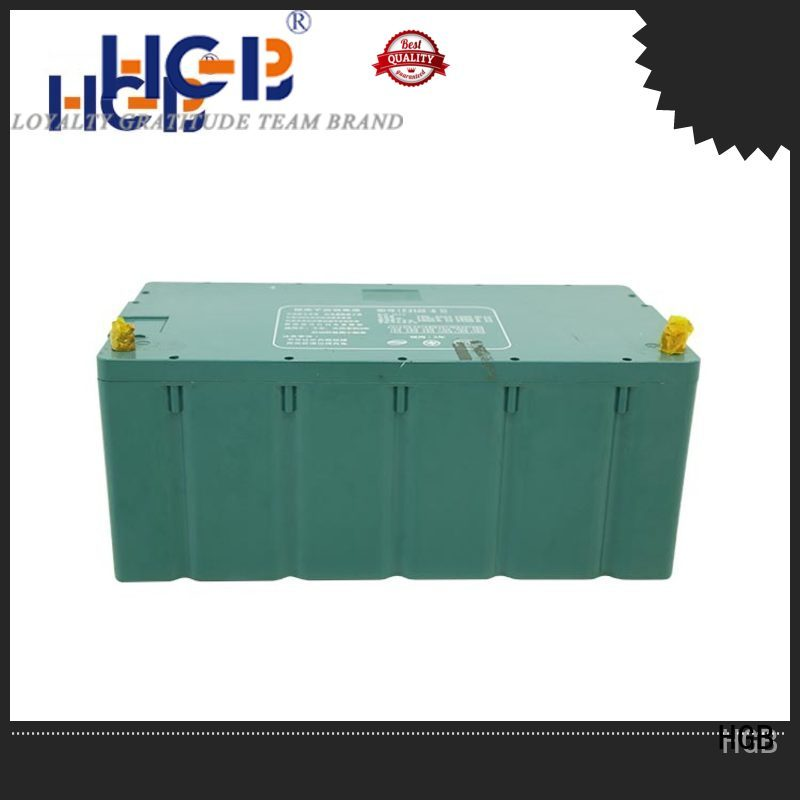 HGB ev lithium batteries factory price for tram