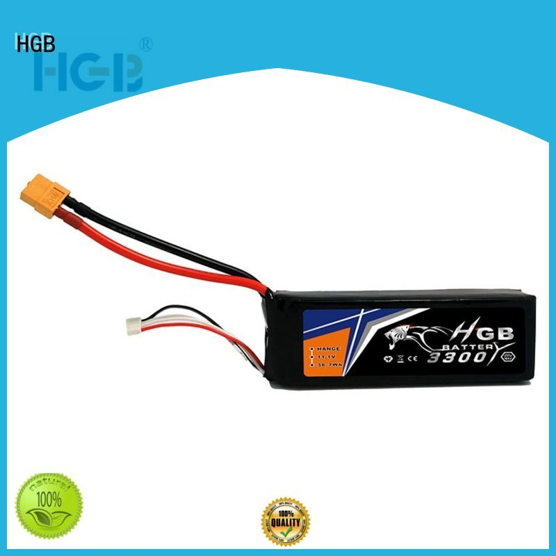 HGB advanced li poly rc battery factory price for RC helicopter