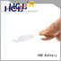 HGB thin battery supplier for portable sensors power cards