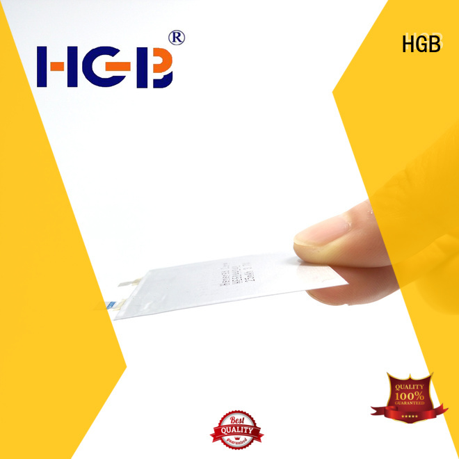 HGB high voltage ultra thin lithium battery wholesale for wearable devices