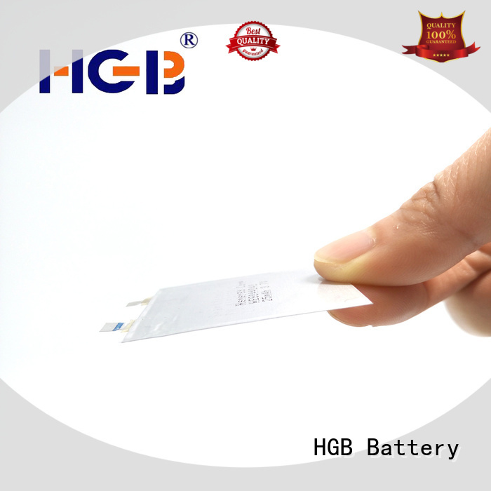 12mAh thin battery silver for wearable devices HGB