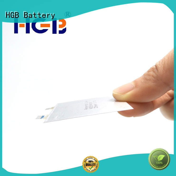 high quality thin battery factory price for smart cards