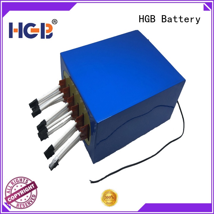HGB long cycle life lithium marine batteries series for military applications