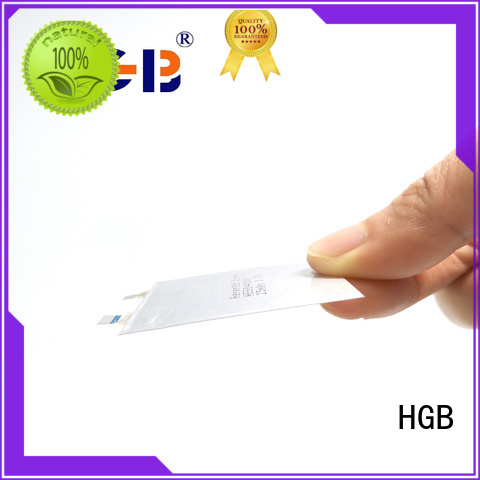 HGB high voltage ultra thin lithium battery customized for micro speakers