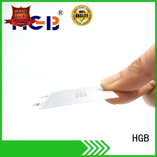 HGB thin battery supplier for wearable devices