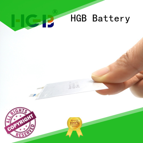 HGB high voltage ultra thin battery wholesale for tracking devices